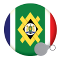 Africa Keyrings - 58mm